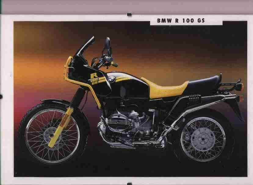 BMW R 100GS technical specifications